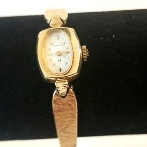 14K Gold Vintage Hamilton Dainty Ladies Watch